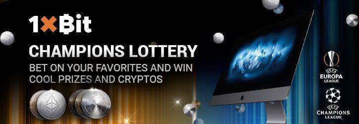 1xbit champions lottery promotion