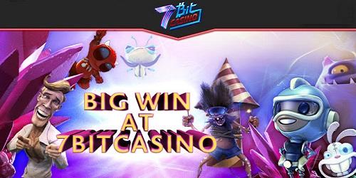 7bitcasino big winner