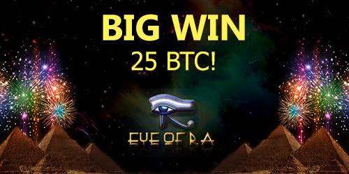 7bitcasino eye of ra slot big winner