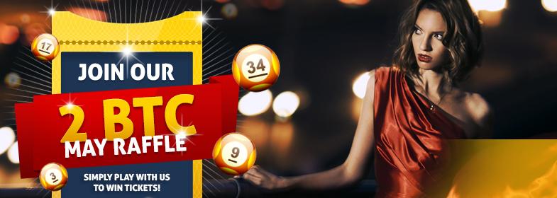 Bitcasino bitcoin Giveaway May Promo
