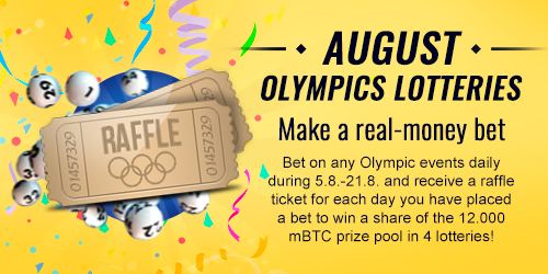 sportsbet.io august olympics lottery
