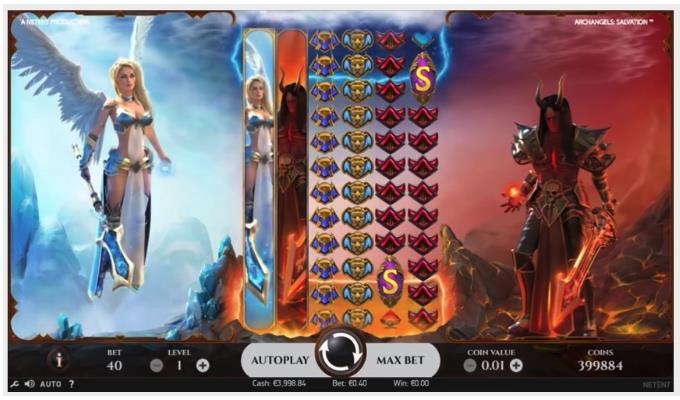 archangels salvation slot screen