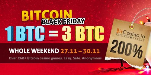 bitcasino.io black friday bonus