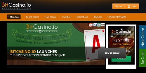 bitcasino.io blackjack