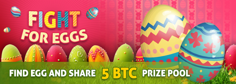 bitcasino easter egg promo