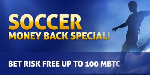 bitcasino sportsbook money back special