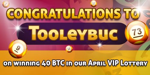bitcasino.io big winner tooleybuc