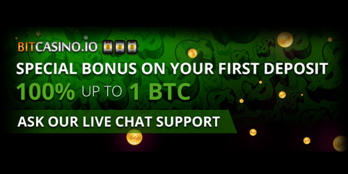 bitcasino.io special welcome bonus