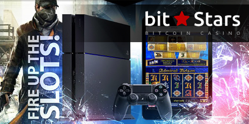 bitstars casino playstation promo