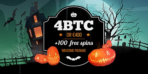 bitstarz halloween welcome package