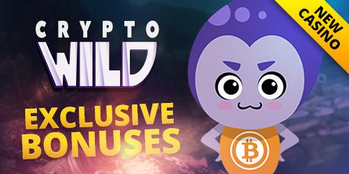 cryptowild casino news article bonus