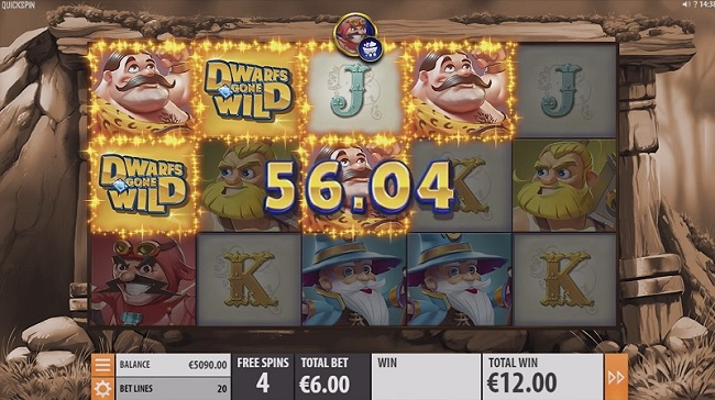dwarfs gone wild slot review