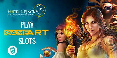 fortunejack casino gameart slots mobile