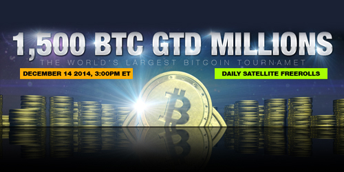 highroller bitcoin poker tournament