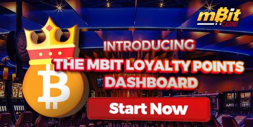 mbit casino loyalty points