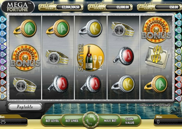mega fortune slot review