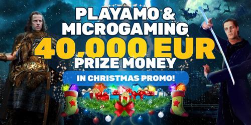 playamo casino christmas promo