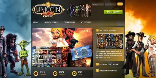 unicoin casino welcome bonus