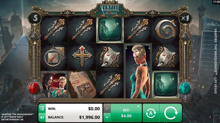 vampire masquerade las vegas slot review
