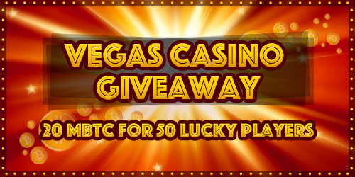 vegascasino january giveaway raffle