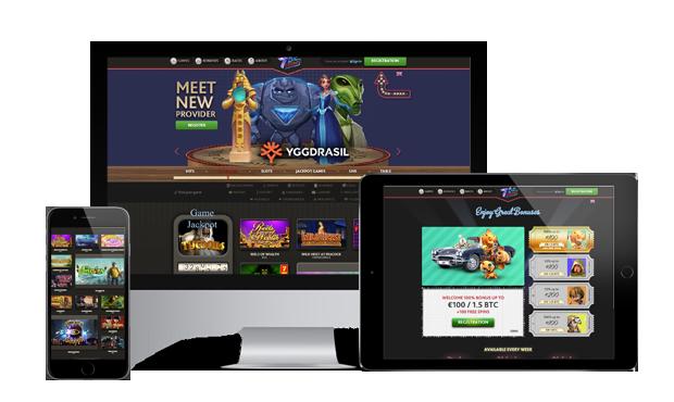 7bit casino website