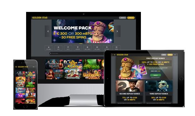 goldenstar casino website