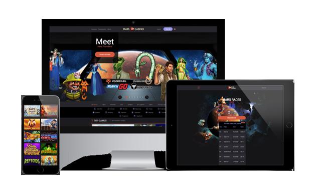 mars casino website
