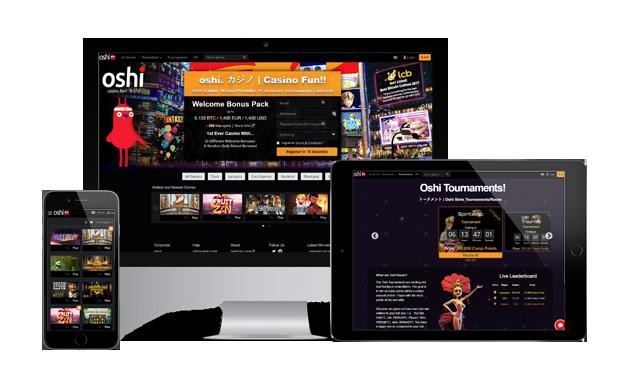 oshi.io casino website