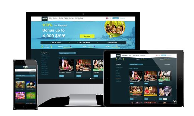 nissi casino website
