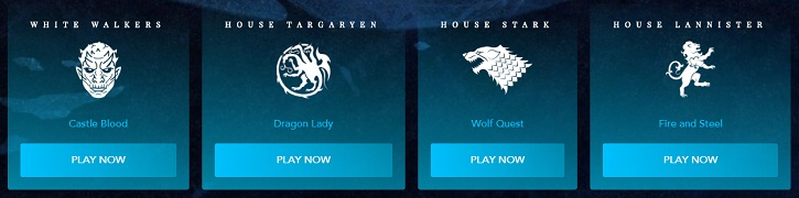 vegascasino game of thrones teams