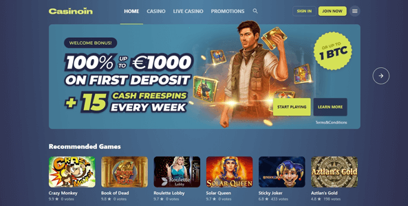 casinoin casino website