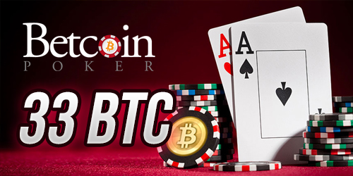betcoin poker big winner 33 btc