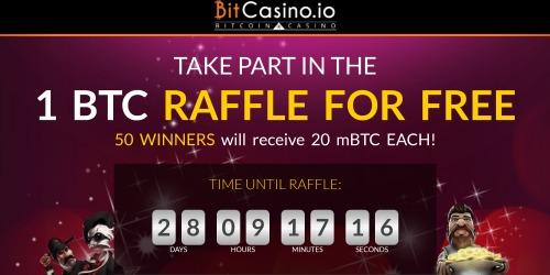 bitcasino бесплатная биткоин лотерея