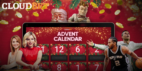 cloudbet advent calendar promo