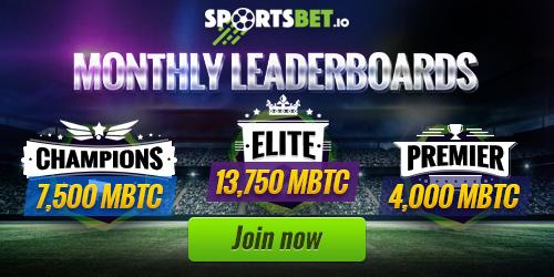 sportsbet.io monthly leaderboards