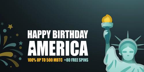 fortunejack casino happy birthday america